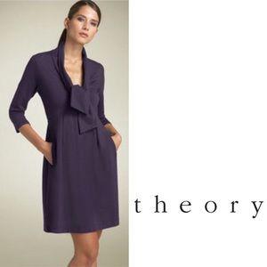 Theory KATALINA A-line dress w pockets Sz 10🎆